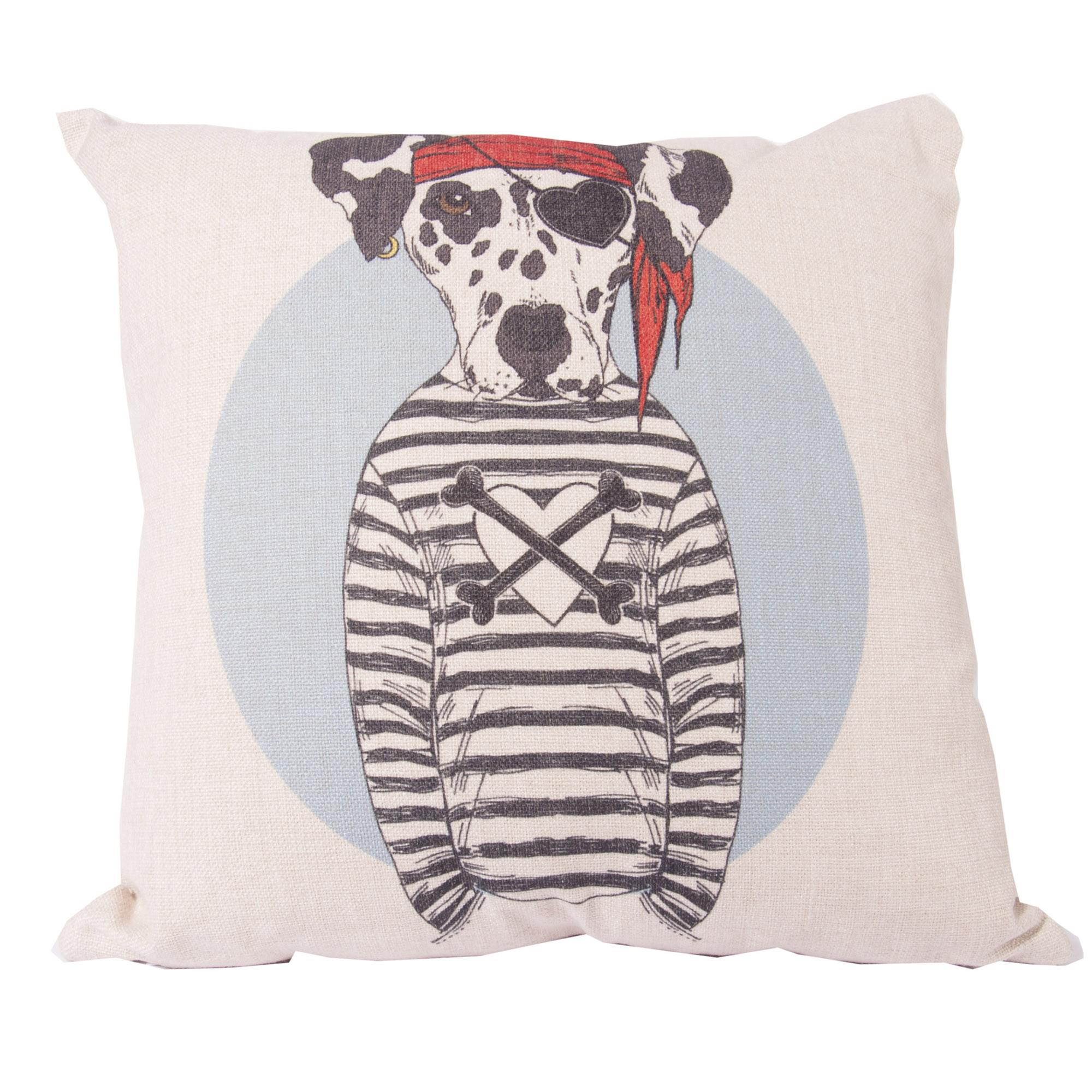 Pirate Dalmation Scatter Cushion Cover