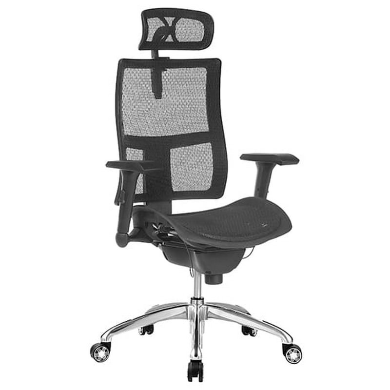 Zodiac Fabric Mesh Executive Office Chair with Headrest
