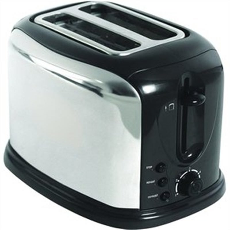 PRIMA S-Steel Toaster 2 Slice Fast Delivery Local Manufacture Warranty