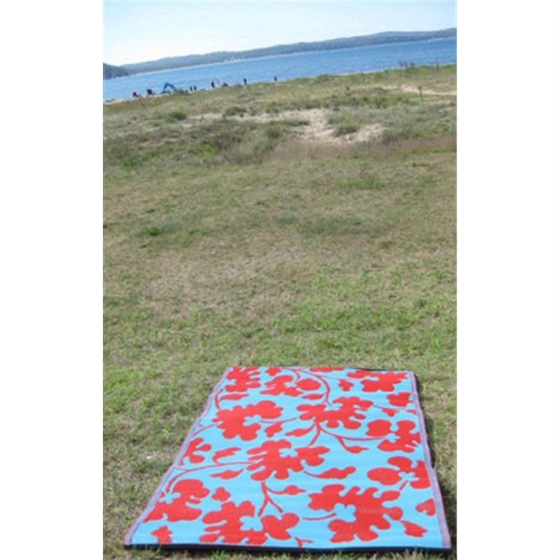 Oslo Blue Outdoor Rugs - 120x179cm