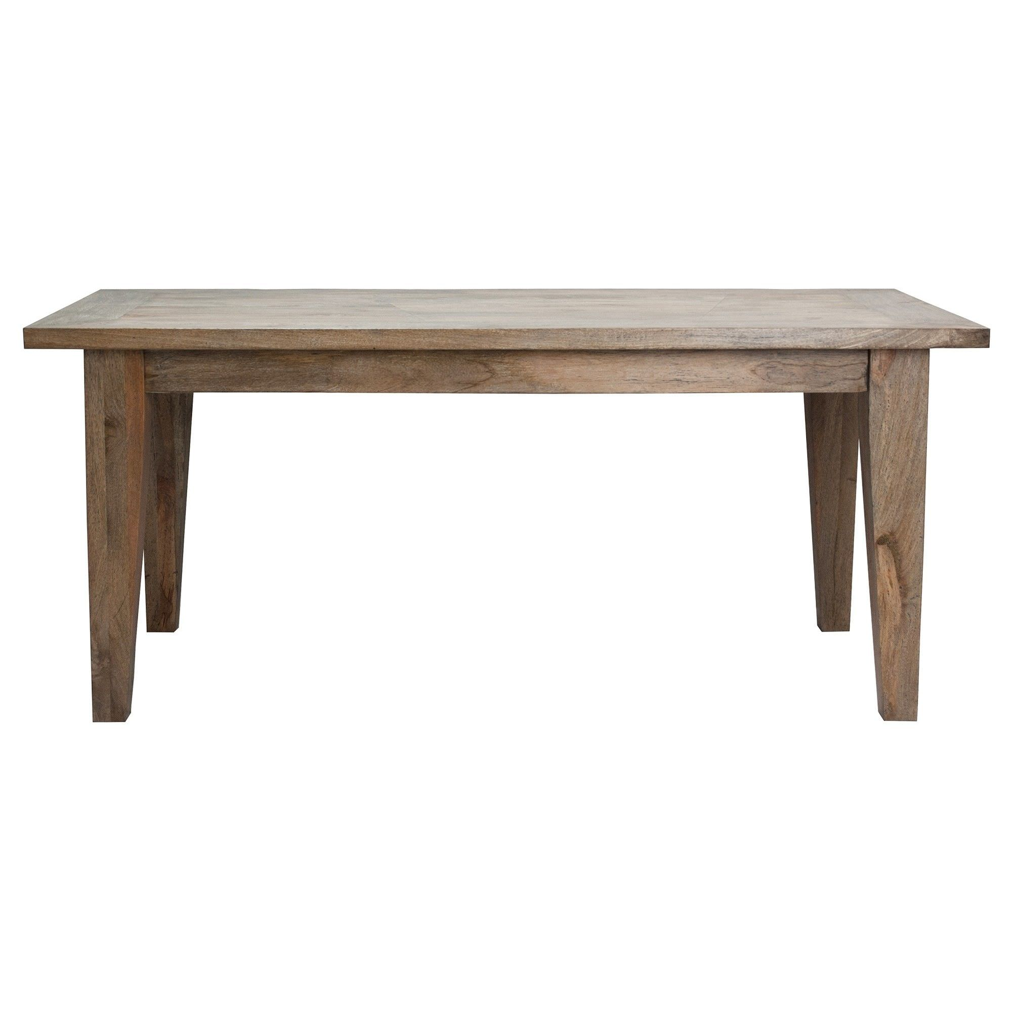 Kilmersdon Mango Wood Dining Table, 220cm