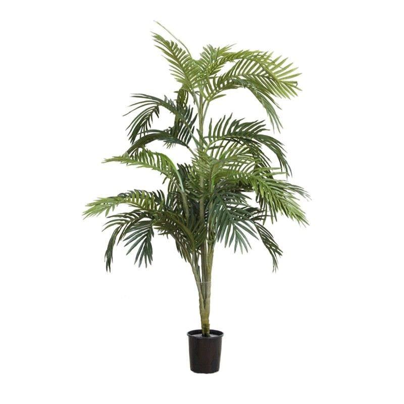 Artificial Areca Palm in Pot, 120cm