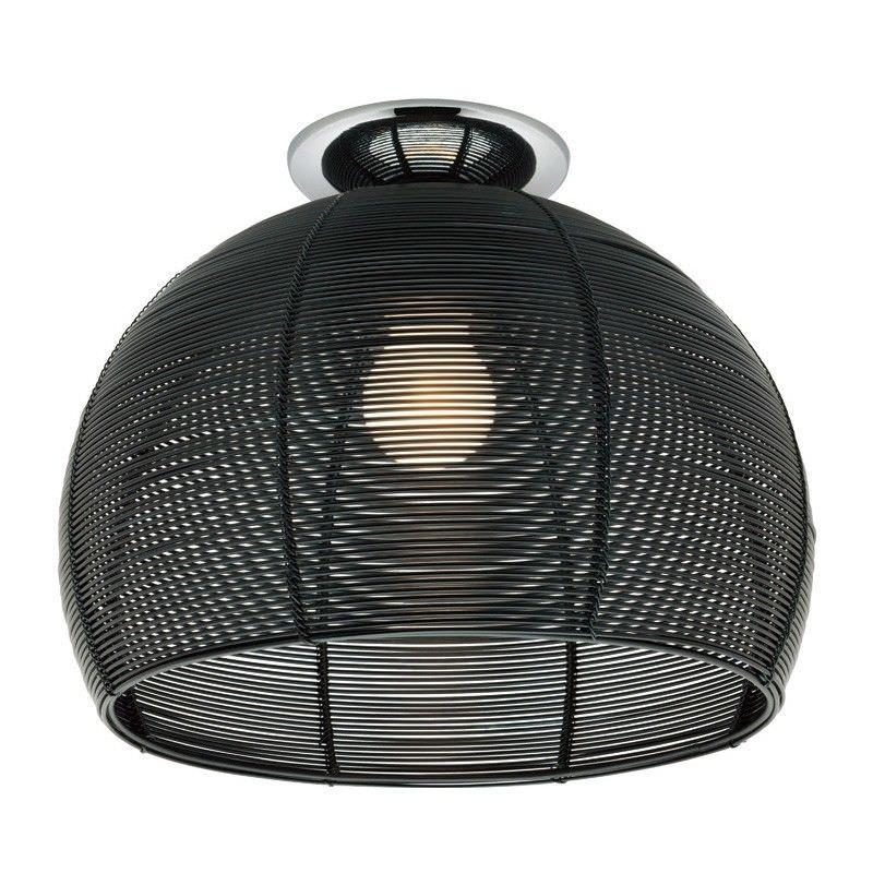 Arden Batten Fix Ceiling Light - Black