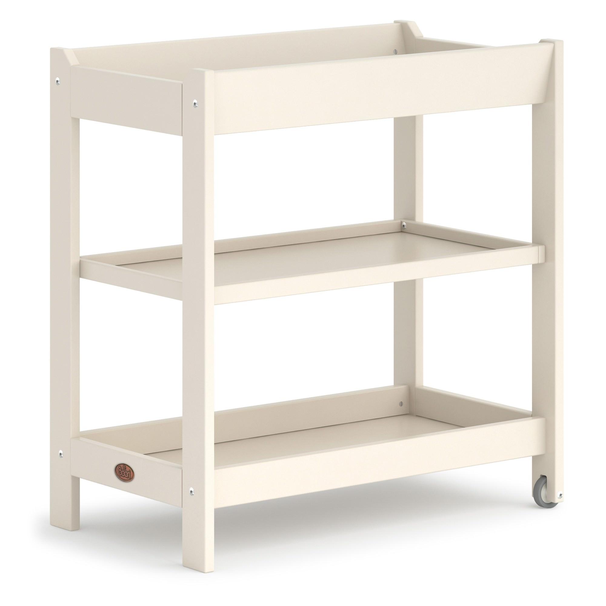 Boori Universal Wooden 3 Tier Change Table, Cream