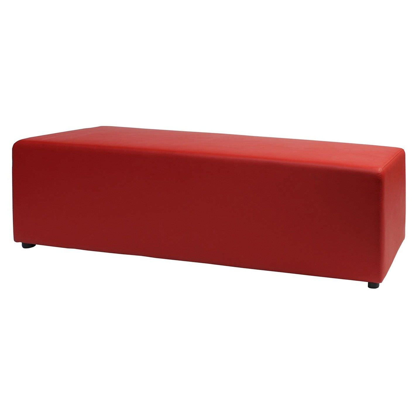 Berlin Commercial Grade 150cm Bench - Red