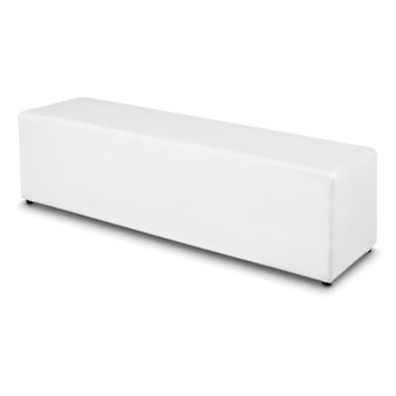 Berlin Commercial Grade 150cm Bench - White
