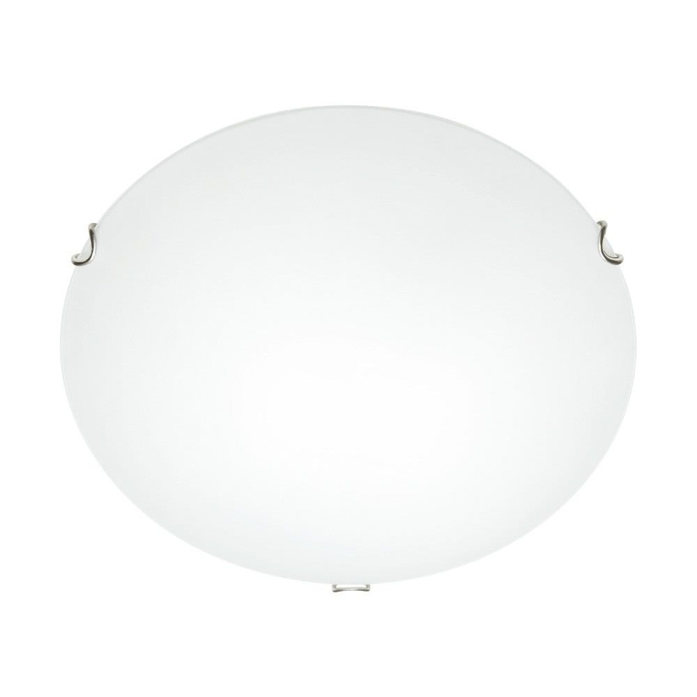 Cougar Delta 1 Light 30 cm Oyster Ceiling Light