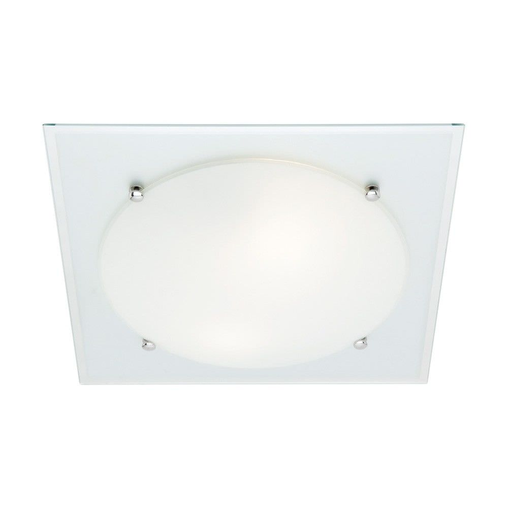Cougar Harley 1 Light 33cm Oyster Ceiling Light