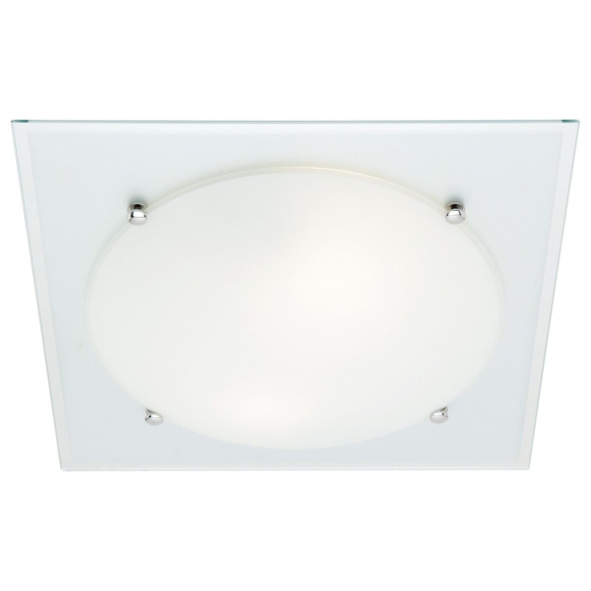 Cougar Harley 2 Light 44cm Oyster Ceiling Light