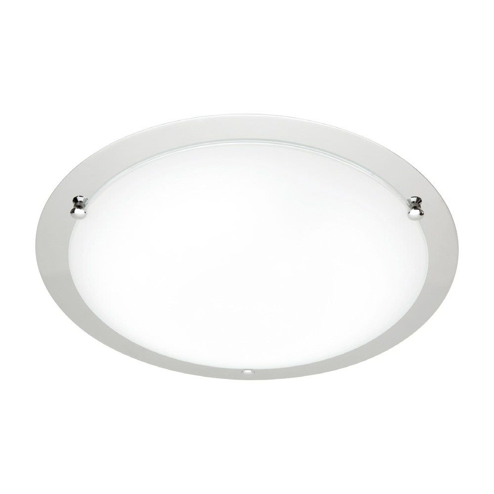 Cougar Detroit Large T5 40W Fluorescent 44cm Oyster Ceiling Light