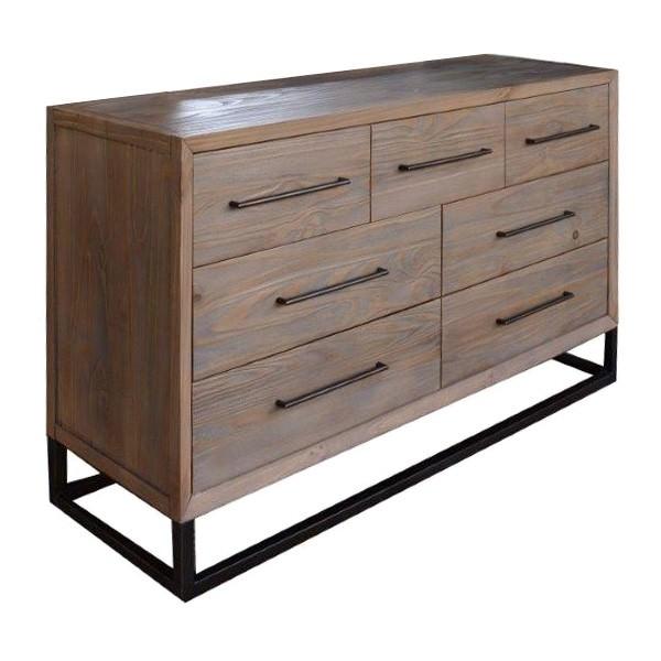 Roseville Wooden 7 Drawer Dresser