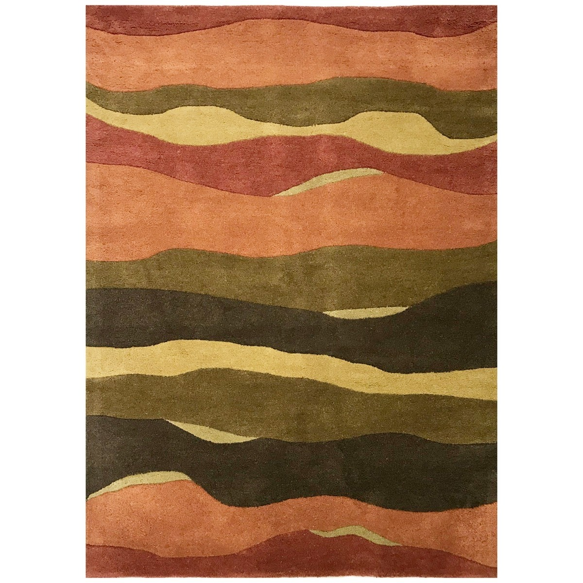 Barrine Hand Tufted Modern Wool Rug, 280x190cm