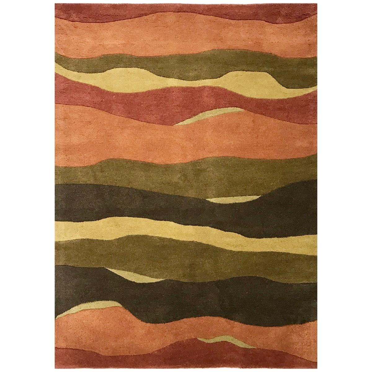 Barrine Hand Tufted Modern Wool Rug, 230x160cm