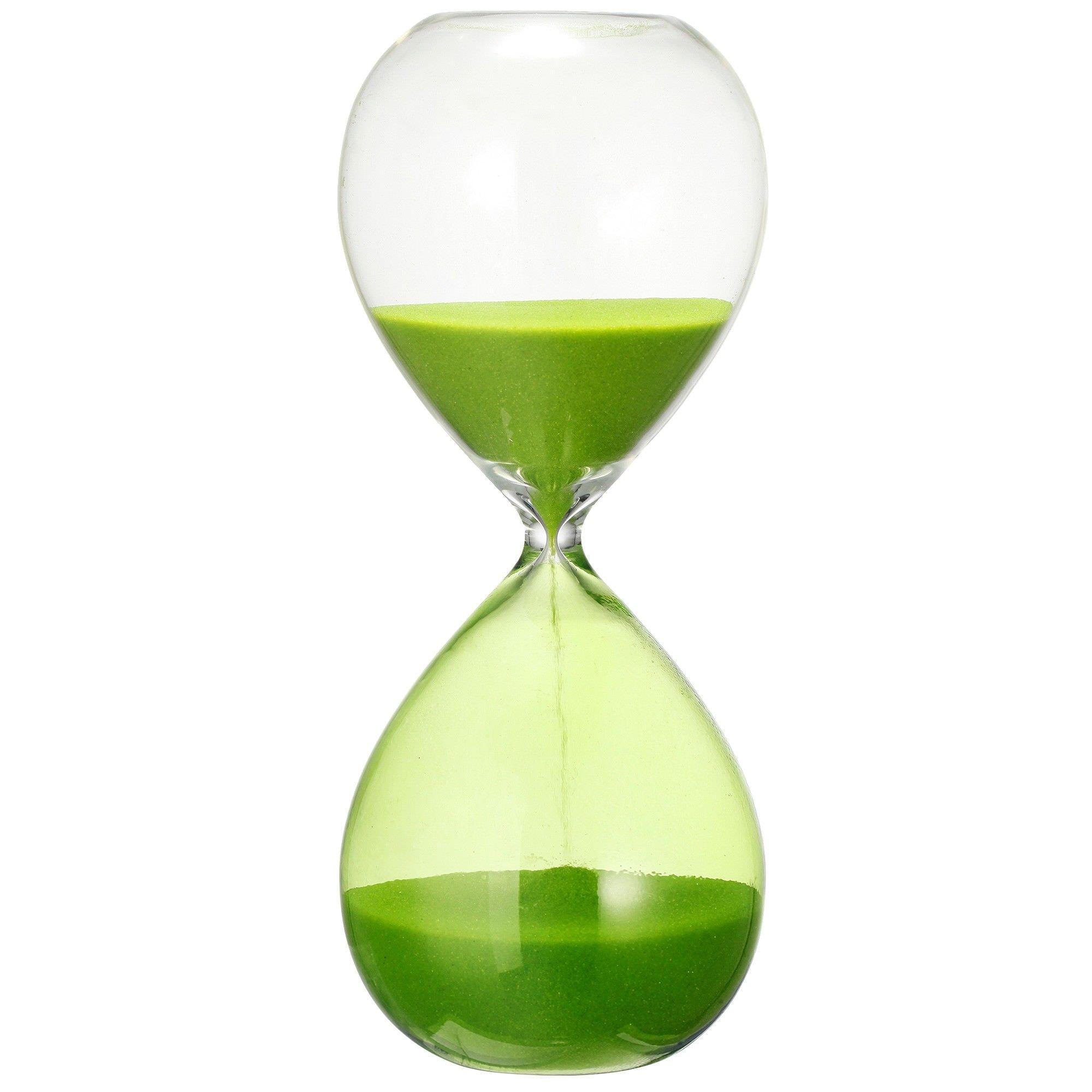 Boundary Half Hour Sandglass Green