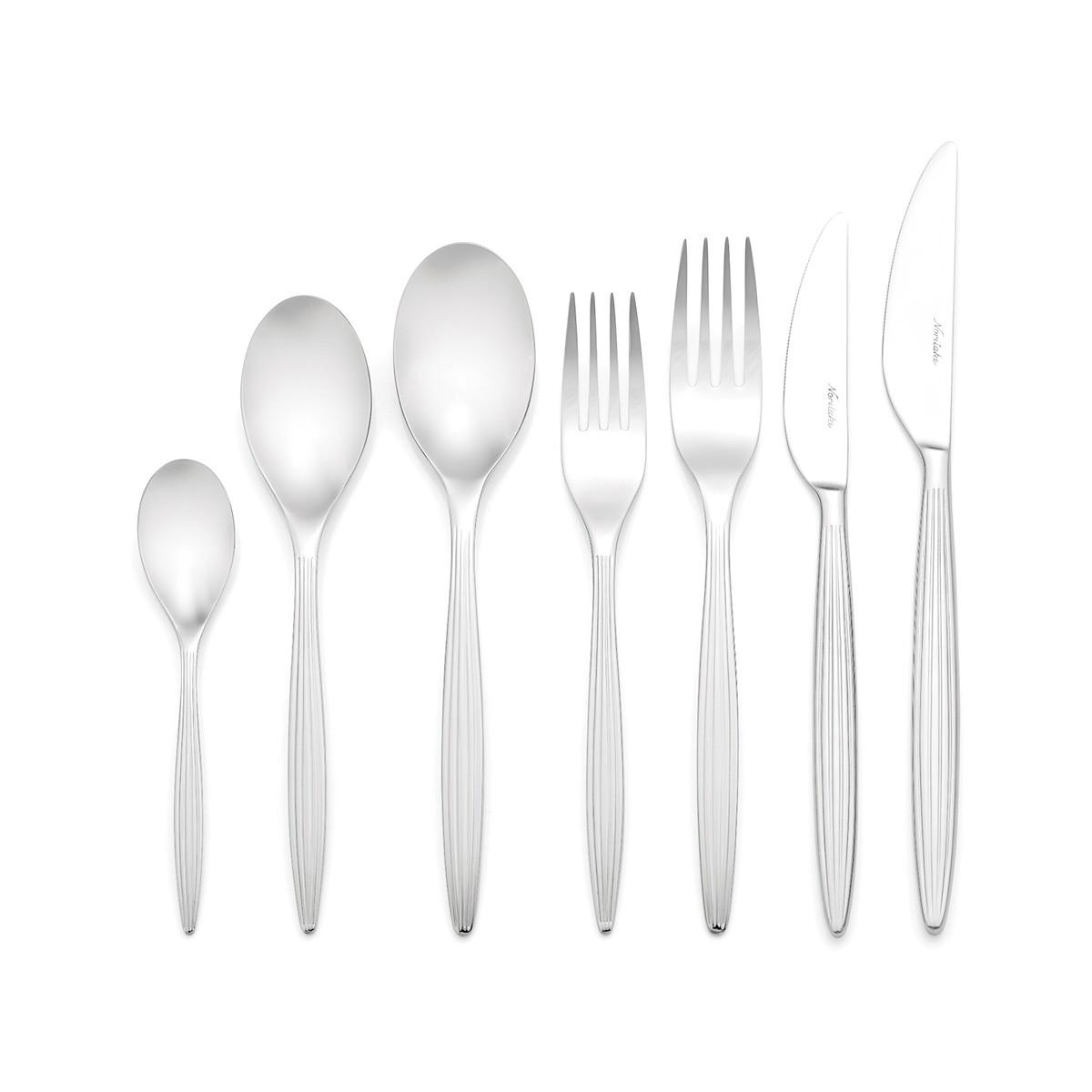 Noritake Cadiz 56 Piece Stainless Steel Cutlery Set