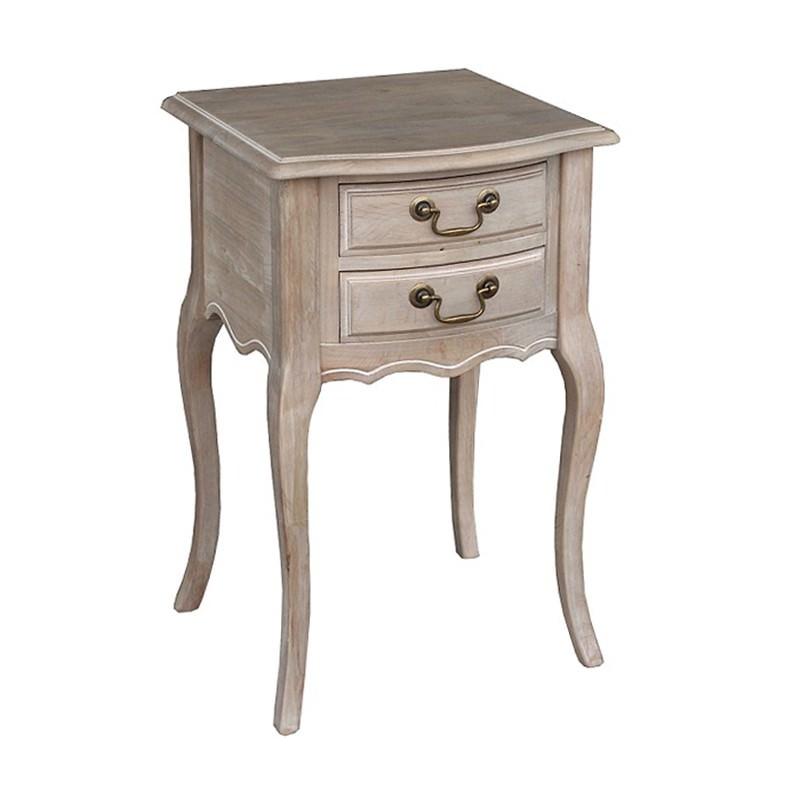 Avene Beech Wood Bedside Table