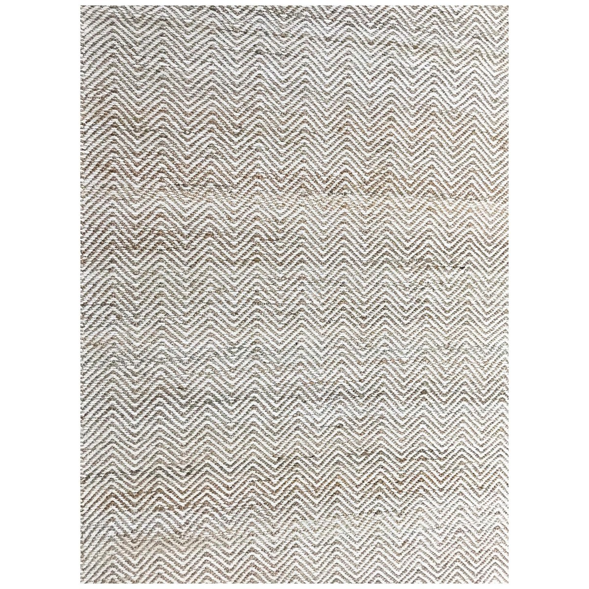 Handwoven Jute Rug 1011 in Natural - 110x160cm