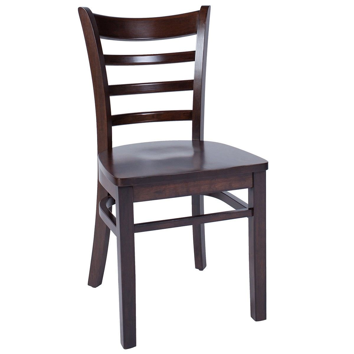Mustang Commercial Grade Timber Chair - Walnut