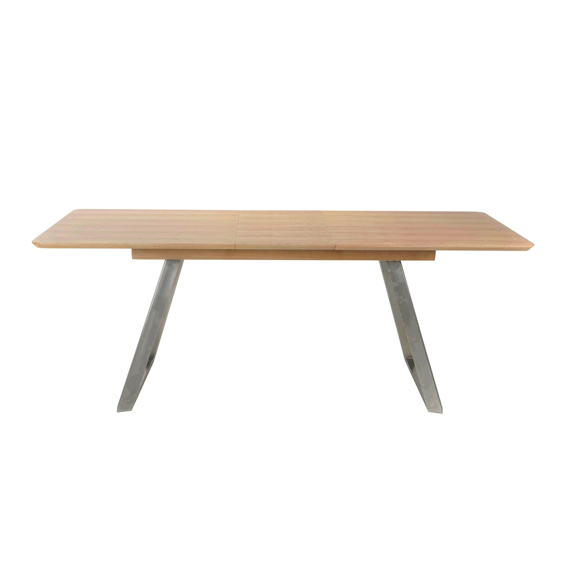 Odin Extension Dining Table, 160-200cm, Oak