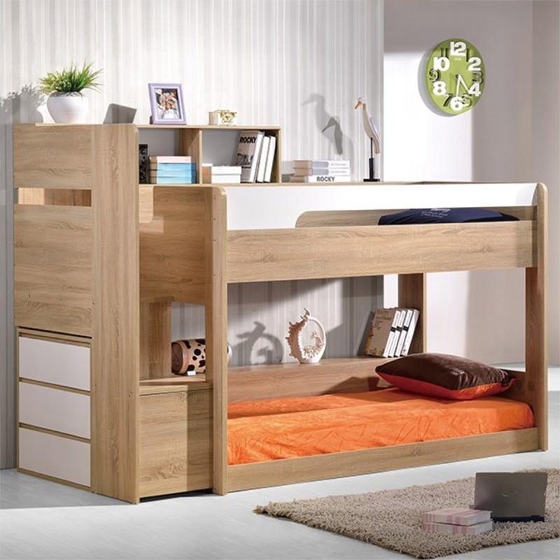 Zelfa Bunk Bed, Single