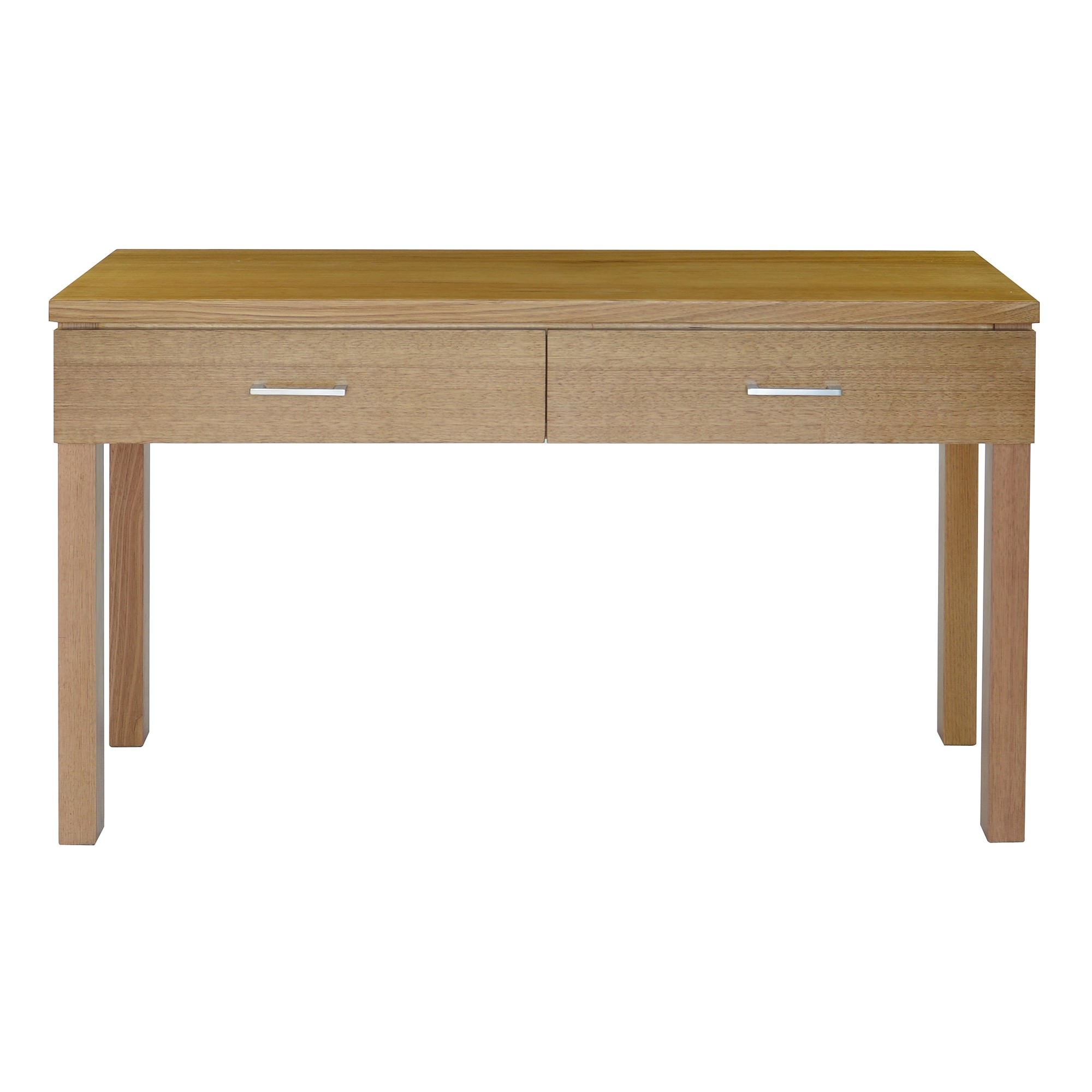 Moselia Tasmanian Oak Timber Hall Table, 125cm, Wheat