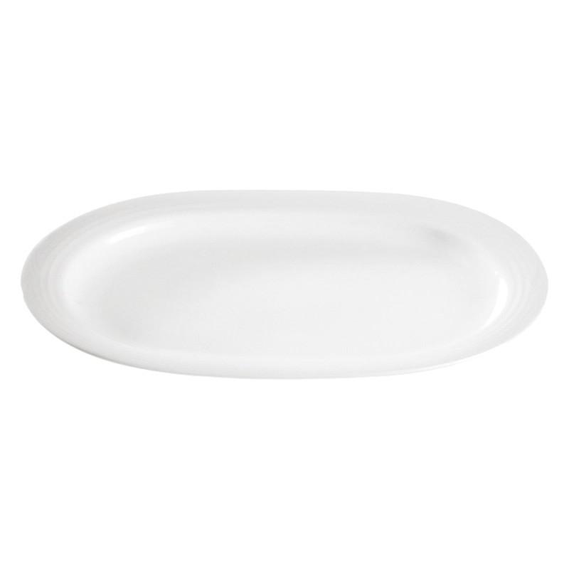 Noritake Arctic White Fine China Oval Platter