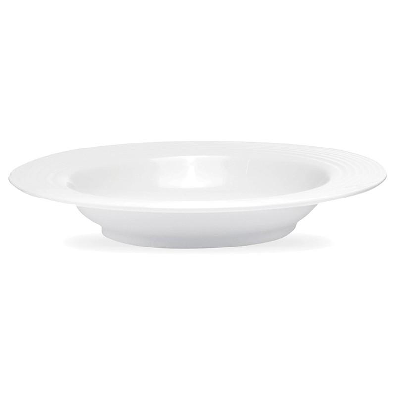 Noritake Arctic White Fine China Pasta Bowl