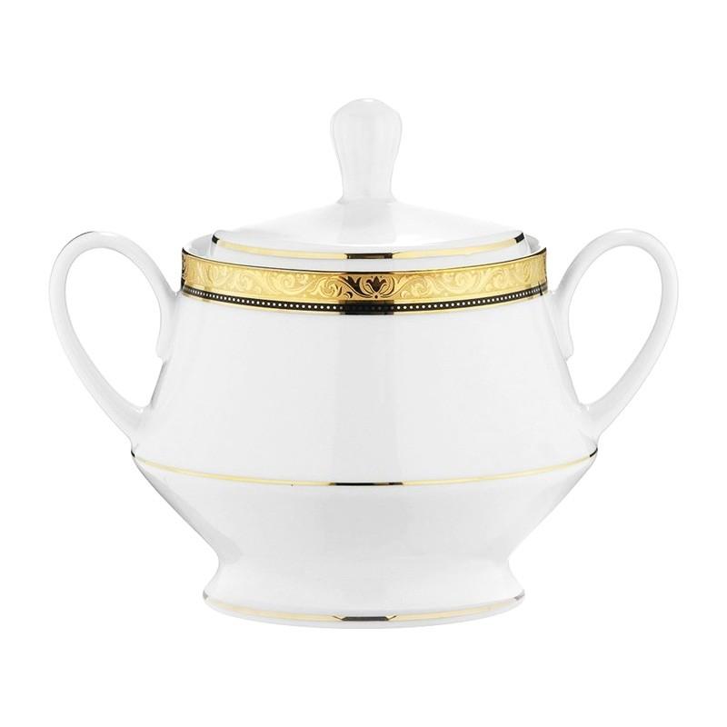 Noritake Regent Gold Fine China Sugar Bowl