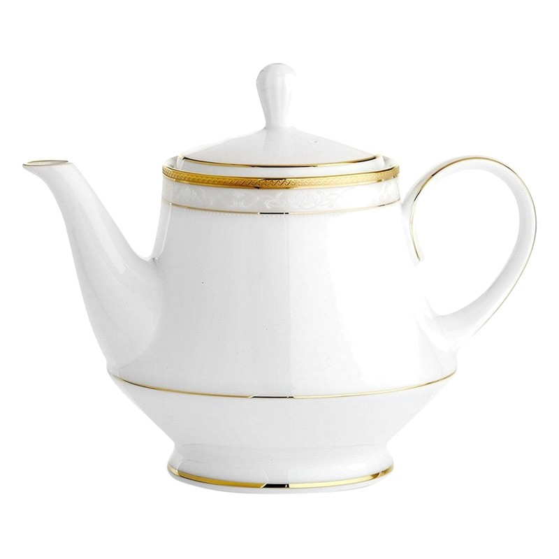 Noritake Hampshire Gold Fine China Teapot