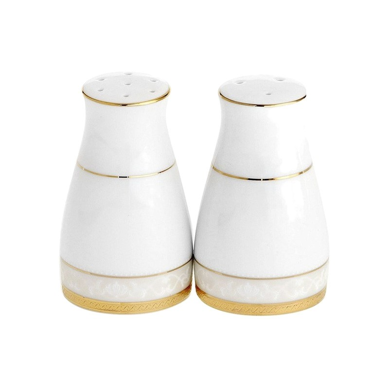 Noritake Hampshire Gold Fine China Salt & Pepper Shaker