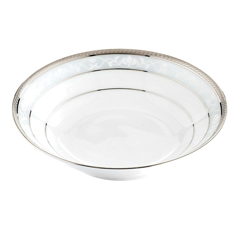 Noritake Hampshire Platinum Fine Porcelain Dessert Bowl