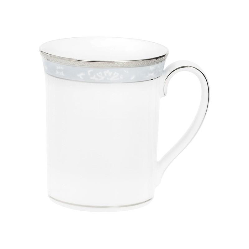 Noritake Hampshire Platinum Fine Porcelain Mug