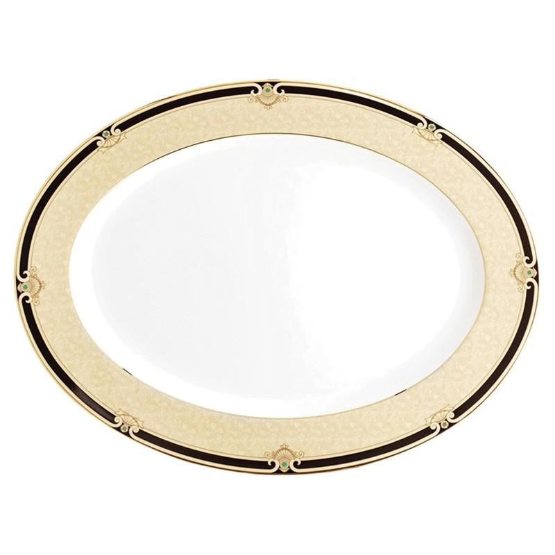 Noritake Braidwood Fine China Oval Platter