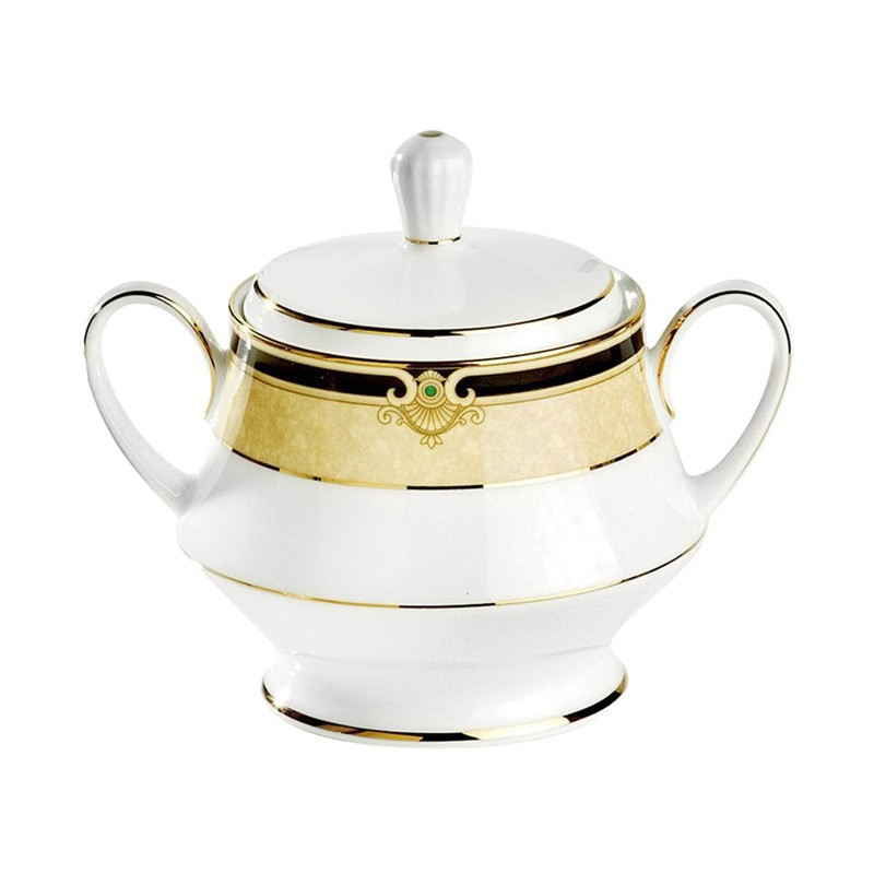 Noritake Braidwood Fine China Sugar Bowl
