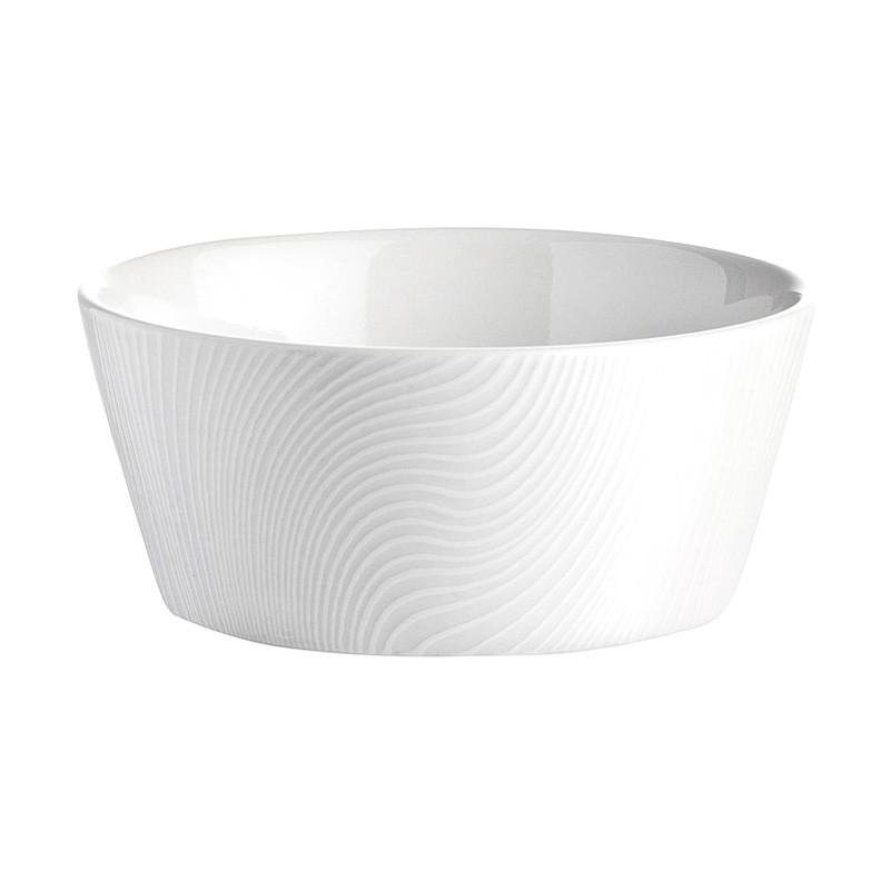 Noritake Colorscapes WOW Dune 4 Piece Fine Porcelain Dessert Bowl Set