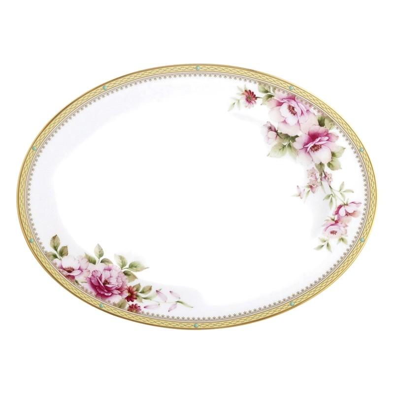 Noritake Hertford Bone China Serving Platter