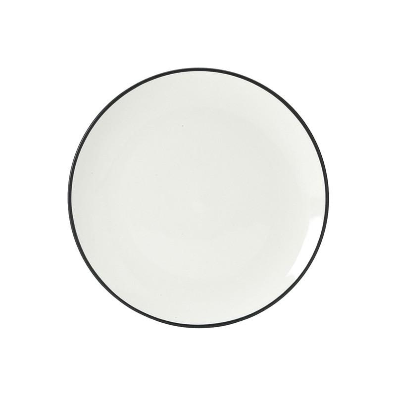 Noritake Colorwave Graphite Coupe Salad Plate