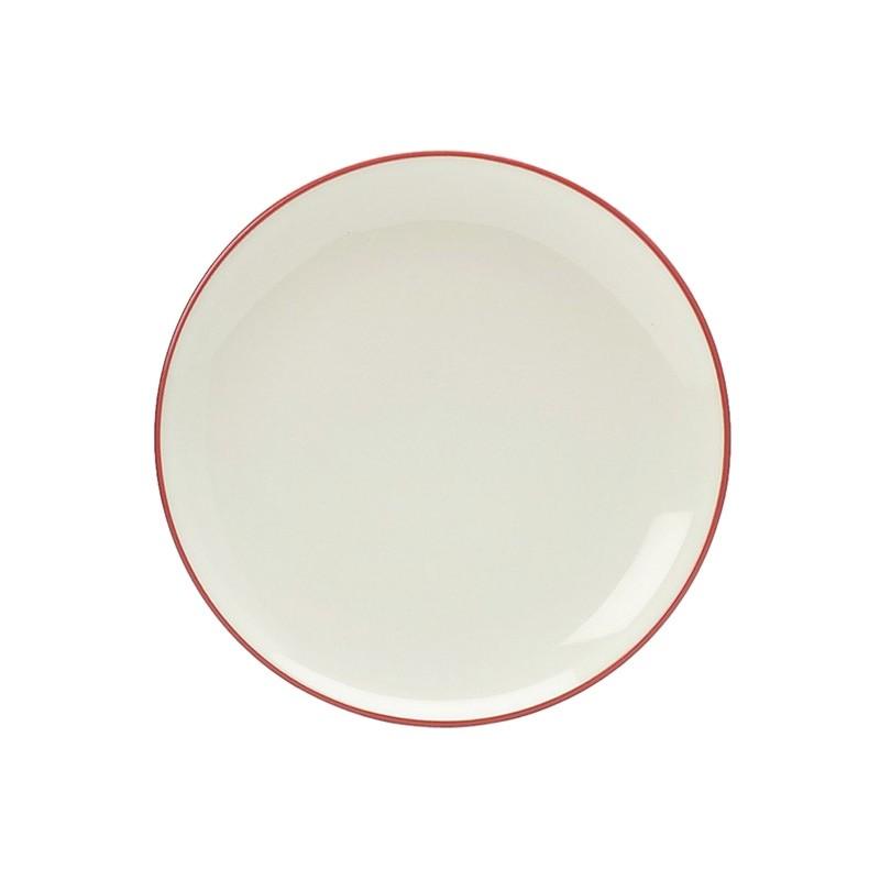 Noritake Colorwave Raspberry Coupe Salad Plate