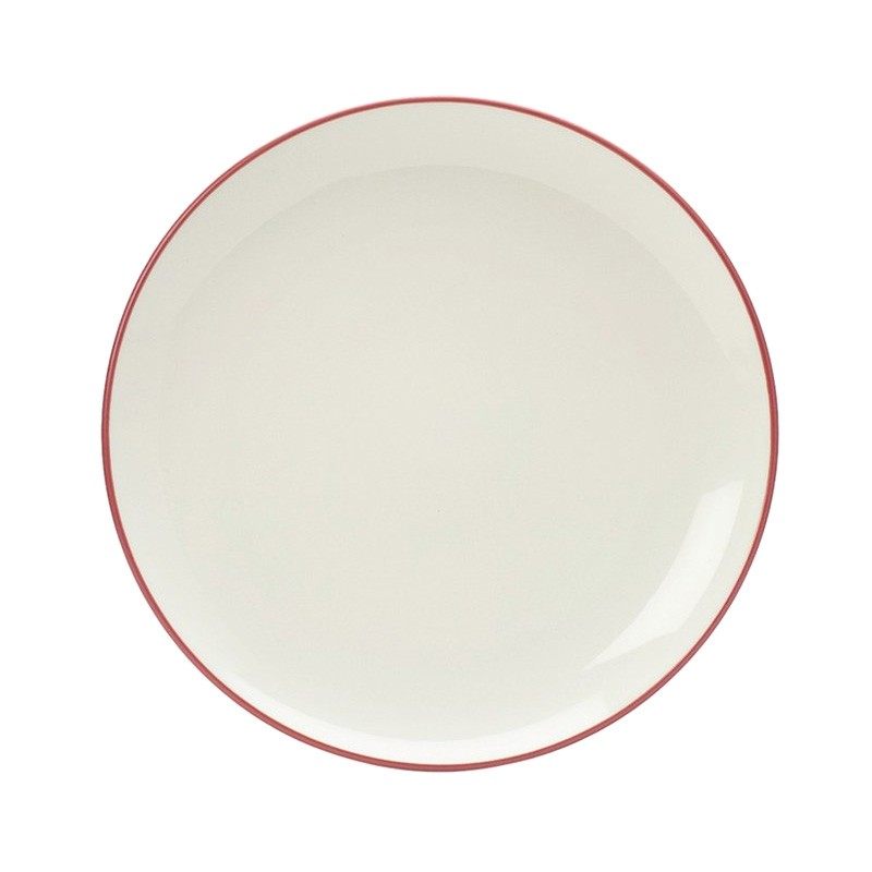 Noritake Colorwave Raspberry Coupe Dinner Plate