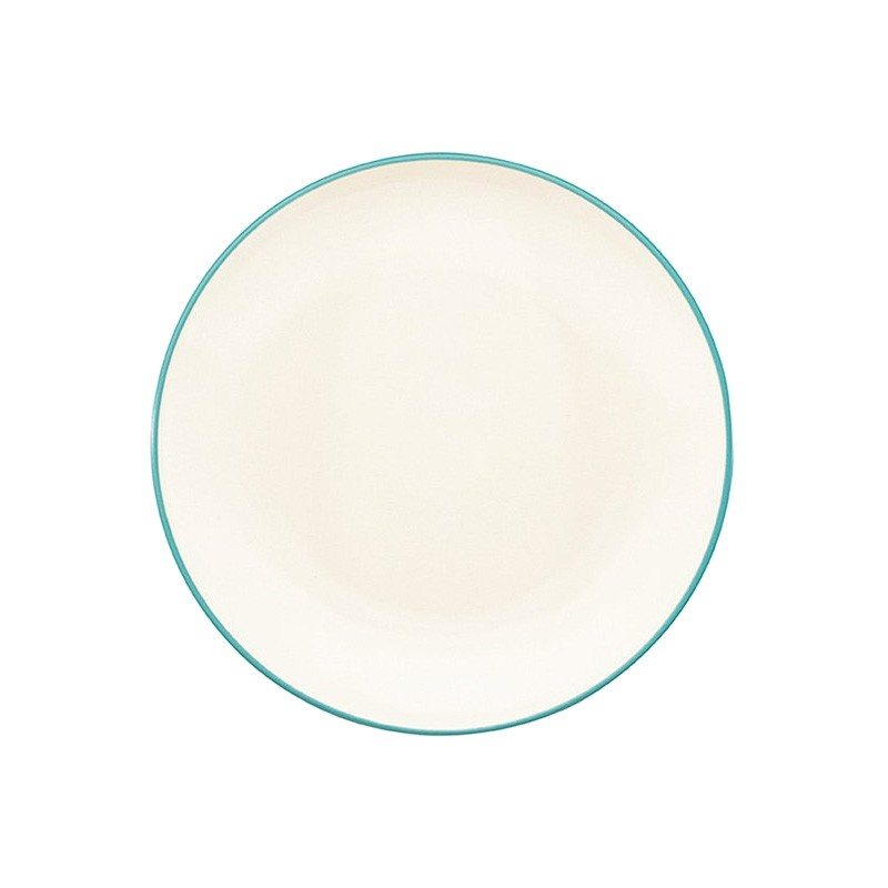 Noritake Colorwave Turquoise Coupe Salad Plate