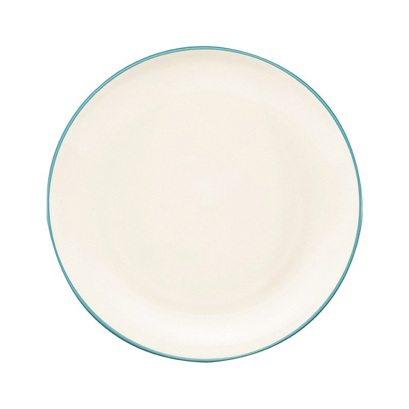 Noritake Colorwave Turquoise Coupe Dinner Plate