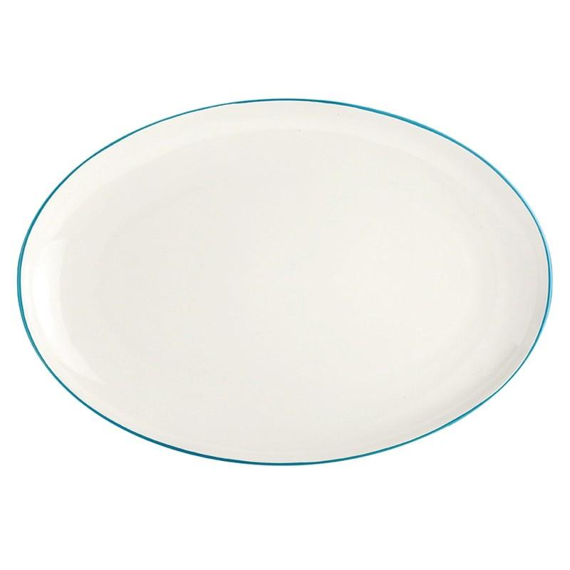 Noritake Colorwave Turquoise Oval Platter