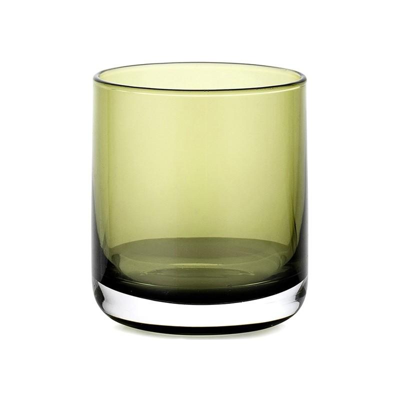 IVV Lounge Bar Whiskey Glass, Set of 6, Green