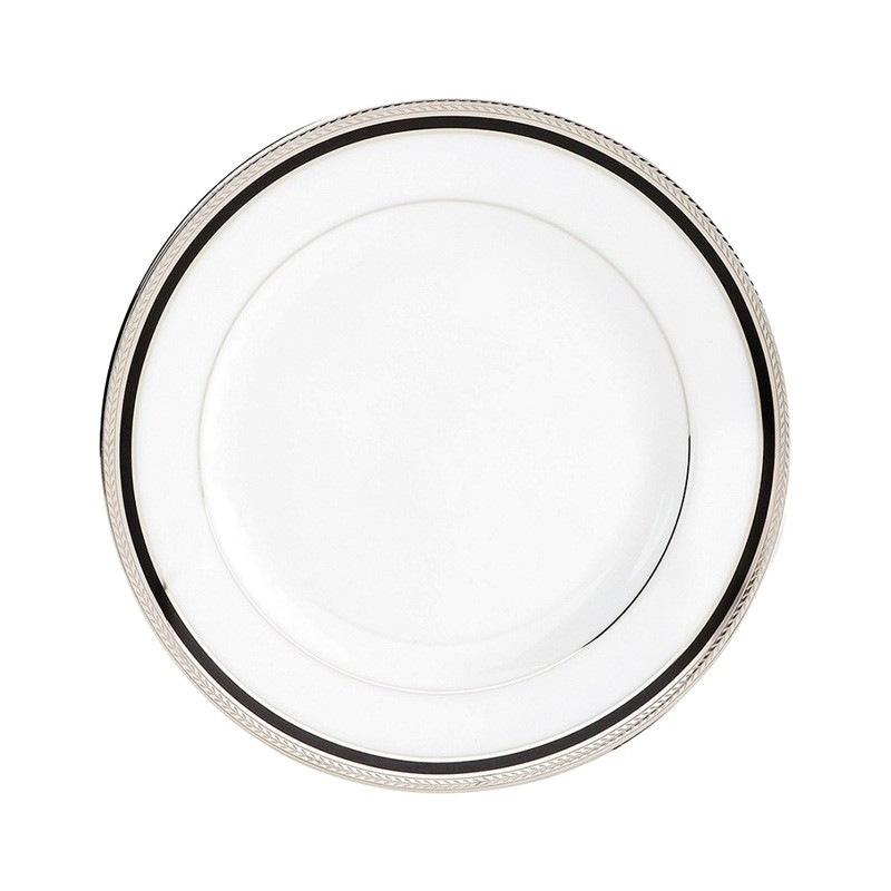 Noritake Toorak Noir Fine China Butter and Bread Plate