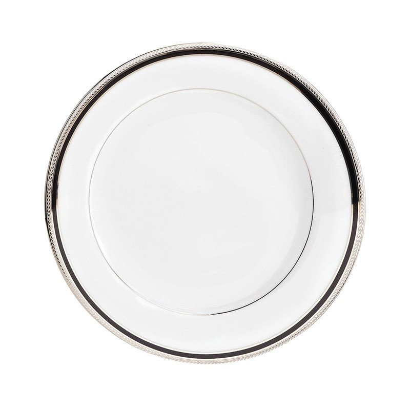 Noritake Toorak Noir Fine China Dinner Plate