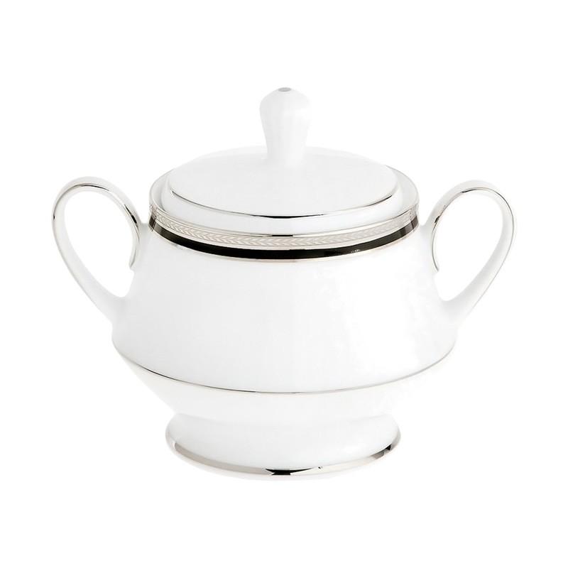 Noritake Toorak Noir Fine China Sugar Bowl