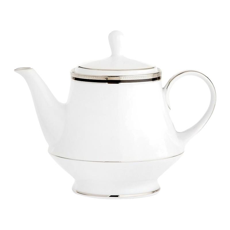 Noritake Toorak Noir Fine China Teapot