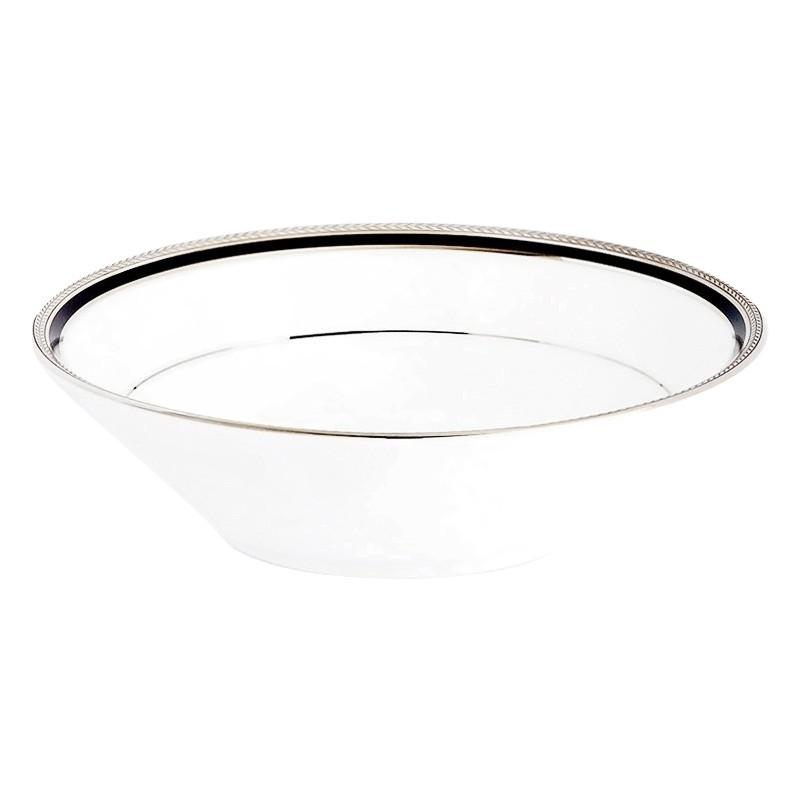Noritake Toorak Noir Fine China Cereal Bowl
