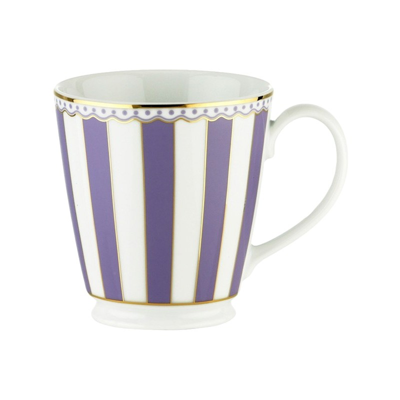 Noritake Carnivale Fine Porcelain Mug, Lavender