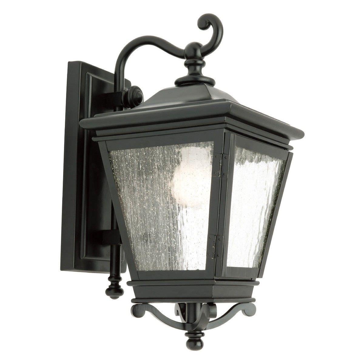 Nottingham IP43 Outdoor Wall Light - Black